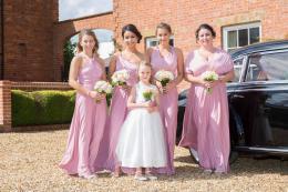 Dusky Pink Maids