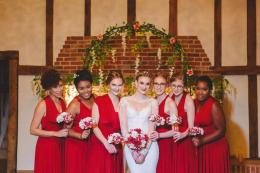 Lauren's Red Hot Wedding