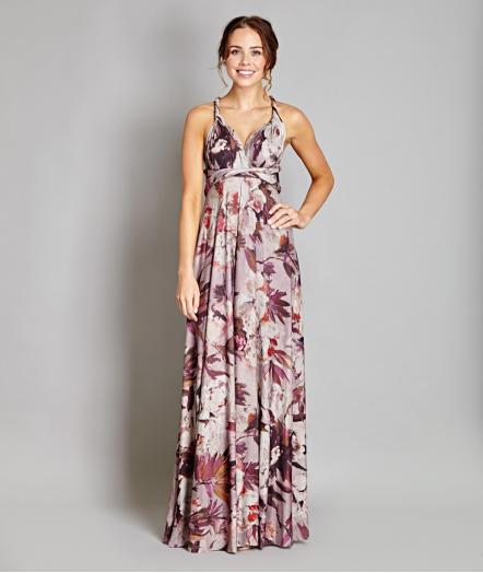 Dusty Bloom Multiway Maxi