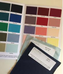 Fabric Swatches and Card