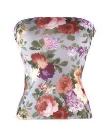 English Bloom Matching Bandeau Top