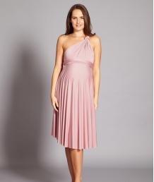 Multiway Maternity Midi Dress