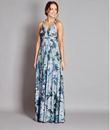 Teal Bloom Multiway Maxi
