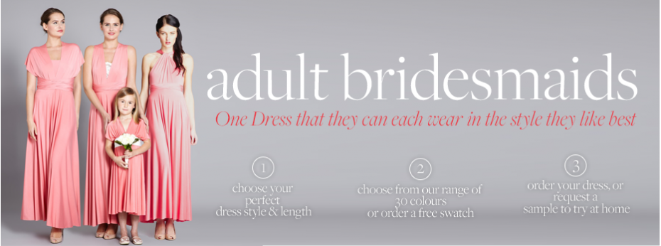 Adult Bridesmaids Main Banner