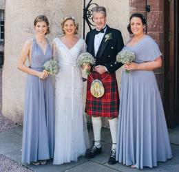 A Scottish Wedding - Soft Grey