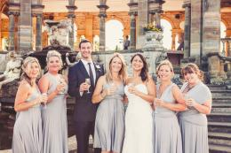 Soft Grey Kent Wedding