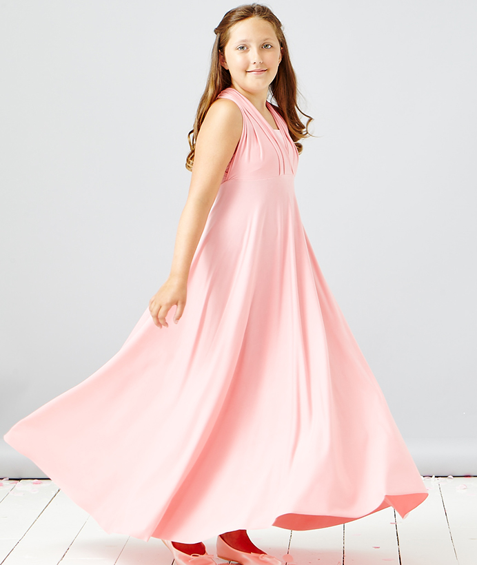 Girl's Multiway Maxi Dress - In One Clothing