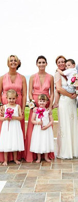 Light coral Multiway Bridesmaid