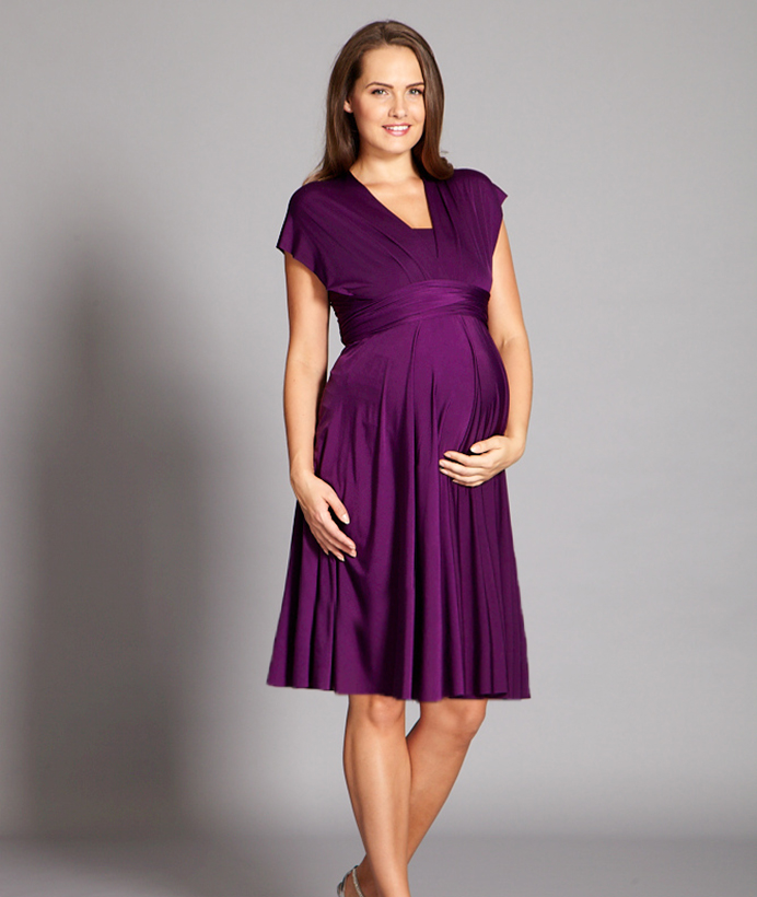 Maternity Multiway Dress - In One Clothing