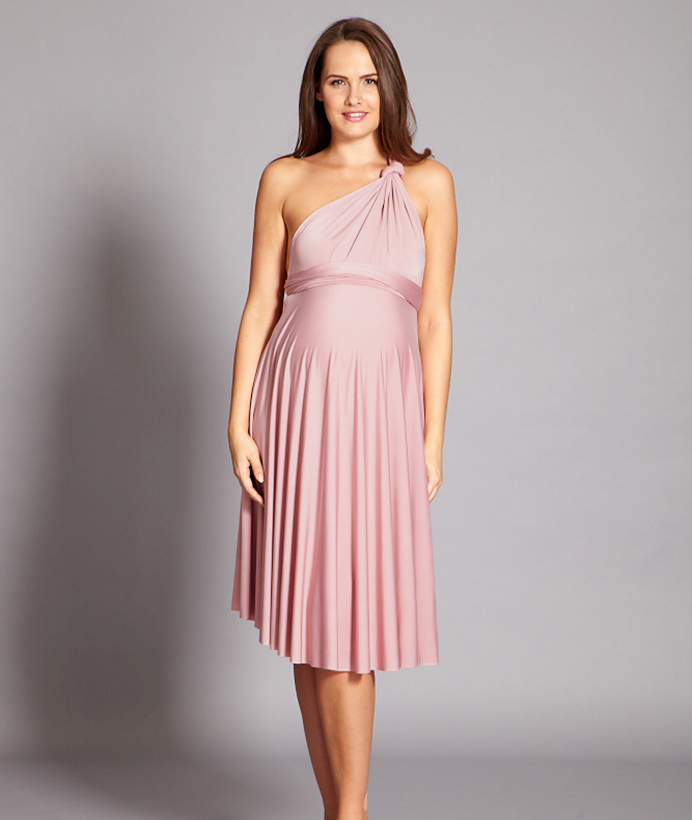 Maternity Multiway Midi Dress - In One Clothing