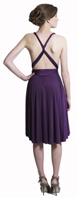 Knotted Capped Sleeves Multiway Bridesmaid