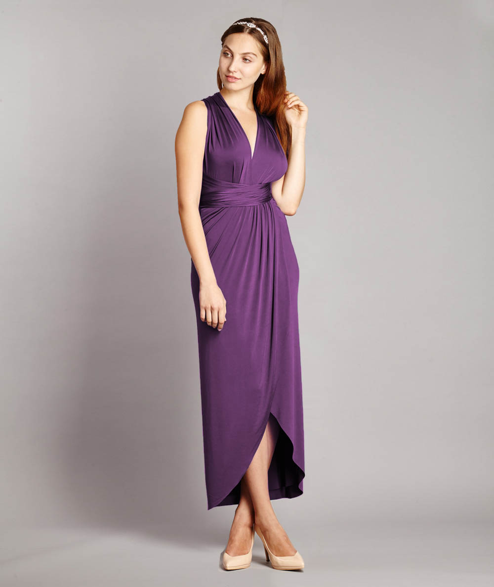 Maternity Multiway Tulip Dress - In One Clothing